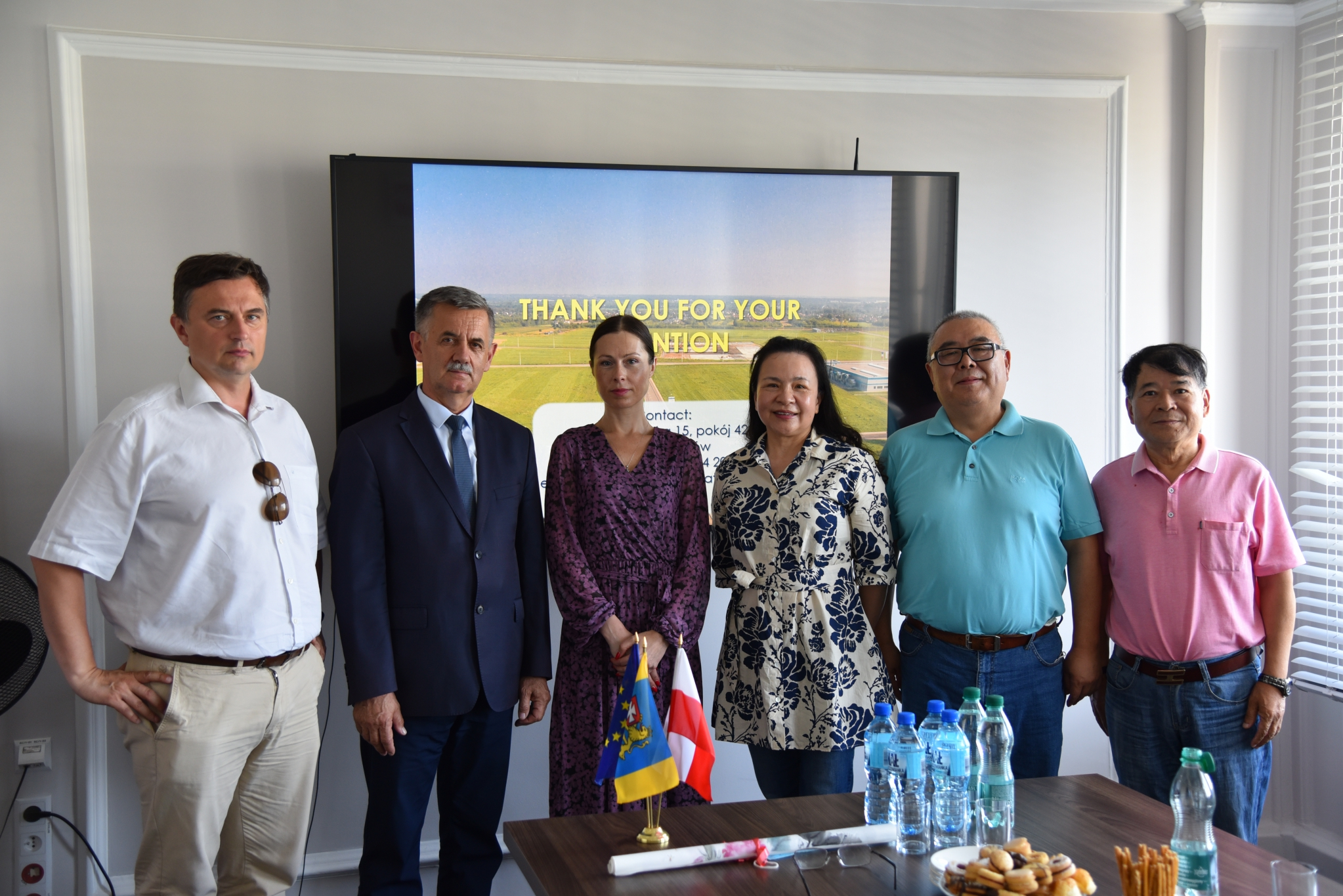 Delegation from China in the Rzeszów poviat